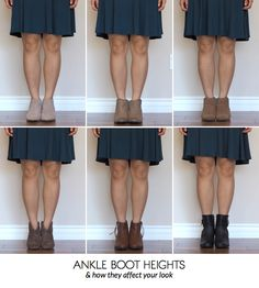 Blogger Putting Me Together has put together the perfect guide to choosing the right pair of ankle boots.