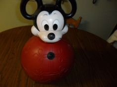 Vintage Hoppity Hop Disney Sun Productions Mickey Mouse Ball   eBay