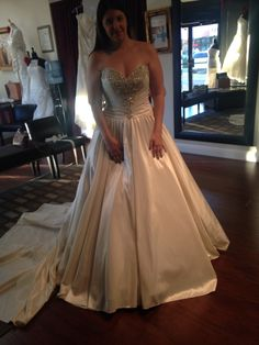 If I was half my size and this dress wasn't the one and only of it's kind....my dream dress