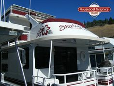 Homeawayfromhome Justanothertoy Check Out These Custom - Houseboat decals
