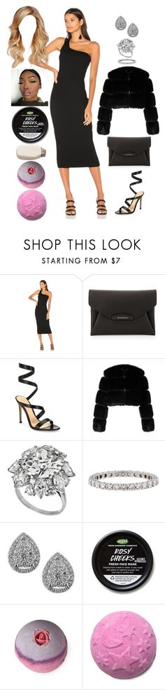 """Valentine's Day: February 14"" by allison-syko ❤ liked on Polyvore featuring Rachel Pally, Givenchy, Gianvito Rossi, Bulgari, Tiffany & Co. and EWA"