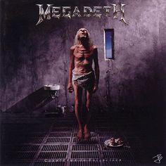 Megadeth - Countdown to Extinction - 1992 Original album cover .