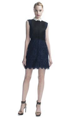 Jason Wu Combo Sleeveless Faux Shirtdress at Moda Operandi