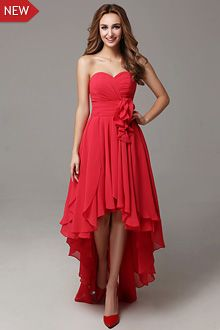 Black red bridesmaid dresses,red and white bridesmaid dress