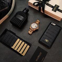 Some #goldblack essentials.  Get your premium accessories now at www.goldblack.de  #goldblackofficial#goldblack#gldblk