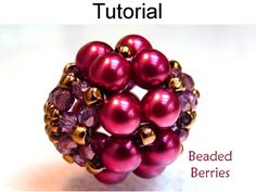 Beaded Beads PDF Beading Pattern | Simple Bead Patterns