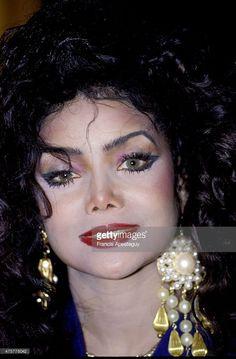 Paris, France -- 20 March 1990, Rock singer La Toya Jackson.,