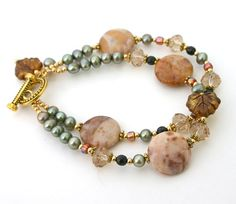 Autumn+Leaves+Bracelet+by+InspiredTheory+on+Etsy,+$20.00