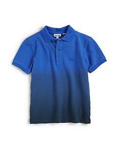 Lacoste Toddlers & Little Boys Dip Dye Piqué Polo Shirt