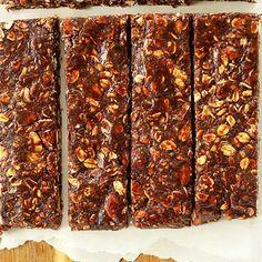 Healthy Brownie Granola Bars
