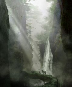 Environmental Concept Art for Fantasy genre. All Rights Reserved. Image Courtesy of G.L. Freeman © www.freemans2dios.com https://www.facebook.com/media/set/?set=a.27247326187.39634.27247196187&type=3
