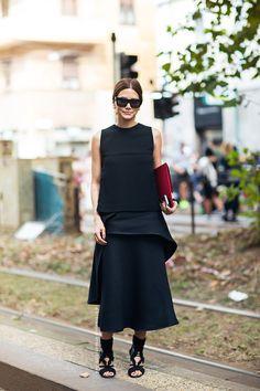 black minimalism. Ceec in Paris. #ChristineCentenera