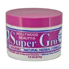 Hollywood Beauty Super Gro Original Natural Herbal Formula 7.5 oz $4.49 Visit www.BarberSalon.com One stop shopping for Professional Barber Supplies, Salon Supplies, Hair & Wigs, Professional Product. GUARANTEE LOW PRICES!!! #barbersupply #barbersupplies #salonsupply #salonsupplies #beautysupply #beautysupplies #barber #salon #deals #sales #HollywoodBeauty #SuperGro #Original #NaturalHerbal #Formula Scalp Treatments, Barber Supplies, Soften Hair, Formula Cans, Nail Supply, Hair Conditioner, Beauty Supply, Hair Wigs, Wig Hairstyles