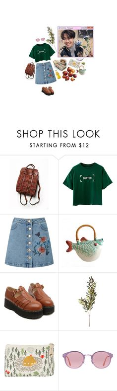 """""""almost summer date with hoseok"""" by rotchenkova ❤ liked on Polyvore featuring Free People, Miss Selfridge, OKA, Danica Studio, RetroSuperFuture, Pier 1 Imports, Summer, kpop, bts and Jhope"""