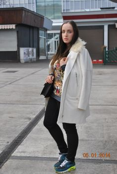 "♥ this look on whatiwear.com by IVANA TOY HANACKOVA ""NEW YEAR 2014...I`M BACK :-)"" http://www.whatiwear.com/look/detail/164474"