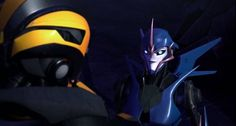 Bumblebee and Arcee act more like brother and sister than just friends