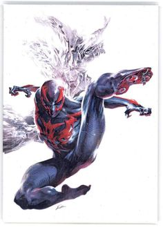 Browse the Marvel comic series Spider-Man 2099 - Check out individual issues, and find out how to read them! Marvel Dc Comics, Heros Comics, Marvel Comic Books, Marvel Vs, Comic Book Characters, Marvel Heroes, Comic Character, Comic Books Art, Spiderman Marvel