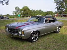 1972 CHEVROLET CHEVELLE SS CONVERTIBLE | by V8 Power