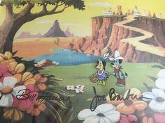 1988, Good, Bad Huckleberry Hound: Picnic on the Prairie production cel  | eBay