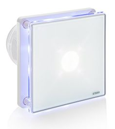 """STERR - Bathroom extractor fan with LED backlight 100 mm / 4"""" - BFS100L"""