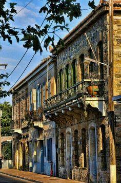 TRAVEL'IN GREECE I Traditional_houses, #Karlovasi, #Samos, #South_Aegean, #Greece, #travelingreece