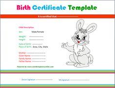 fake birth certificate birth certificate certificate and birth