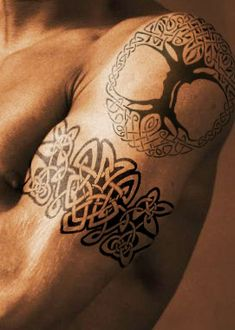 Celtic Tree of Life - Shoulder Tattoo. Hmm... this is a definite possibility.