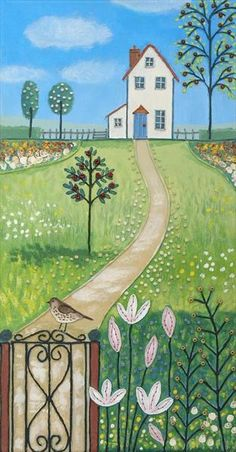 Garden Path by Josephine Grundy