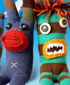uglysock monkey - i already have the beginnings of one of these...