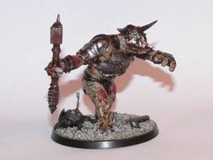 Mordor Troll from Games Workshop's Lord of the Rings Strategy Battle Game