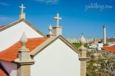 Capela da Boa Nova and Farol da Boa Nova in Leça da Palmeira, Matosinhos (Porto, Portugal)