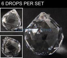 Large Globe Acrylic Bead / Drop (Case of 6)