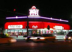 Tulsa, OK - Tally's Cafe on historic Route 66.