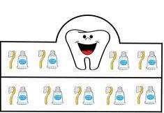 crown pattern for oral and dental health week - Kleine Welt von Mia Crown Pattern, Health Lessons, Healthy Teeth, Oral Hygiene, Dental Health, Teaching Kids, Activities For Kids, New Baby Products, Preschool