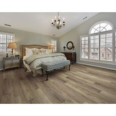 Shop SMARTCORE Ultra 8-Piece 5.91-in x 48.03-in Woodford Oak Locking Luxury Commercial/Residential Vinyl Plank at Lowes.com