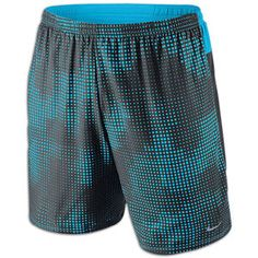 "Nike Dri-Fit 7"" Running Short with Boxer Brief - Men's #Eastbay"