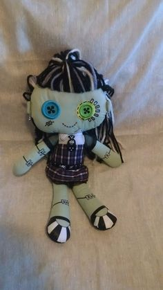 """Monster High Tall Frankie Stein 9"""" Plush Doll Toy"""