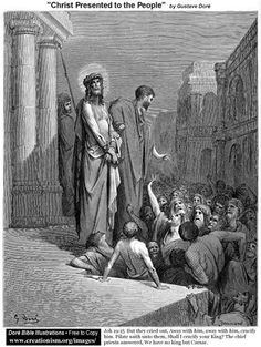 Christ Presented To The People - Gustave Dore