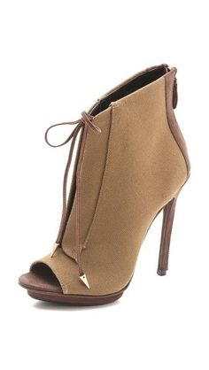 Boutique 9 Orrino 2 Lace Up Booties. Would look great with a pleated skirt or skinny jeans
