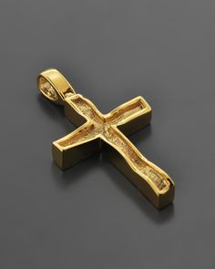 Σταυρός Χρυσός Κ14 Wall Crosses, Cross Jewelry, Cross Paintings, Crucifix, Art History, Jewelry Crafts, Diamond Jewelry, Jewlery, Jewelry Design