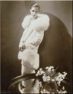 Marion Morehouse in Augusta Bernard, 1929. Photo: Steichen.