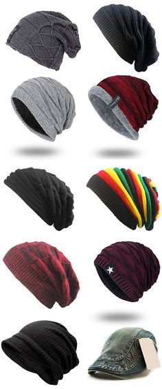 Knitted Beanie For Men,Free Shipping Worldwide.