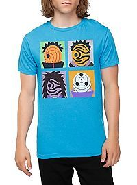 HOTTOPIC.COM - Naruto Shippuden Four Masks T-Shirt