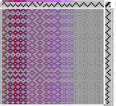 Purple Donsu: Designing for Weaving Weaving Designs, Weaving Projects, Bead Loom Patterns, Weaving Patterns, Cat Cross Stitches, Willow Weaving, Swedish Weaving, Hello Kitty Wallpaper, Tear