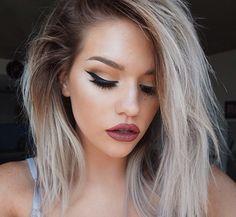 Ombré grey blonde