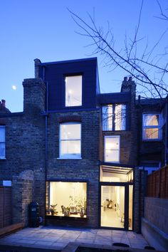 Glass Extension, Rear Extension, Extension Ideas, Skylight Design, Victorian Terrace House, Built In Cupboards, Architectural Services, London Architecture, Brickwork
