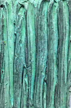 "Saatchi Art Artist Glen Stewart; Painting, ""Patina Study No. 7"" #art"