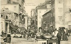 Corfu Island, National Gallery, Corfu Greece, Old Photos, Street View, Painting, Old Pictures, Vintage Photos, Painting Art
