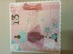 Craft works card teenage card