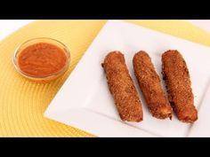 Homemade Mozzarella Sticks Recipe - Laura Vitale - Laura in the Kitchen ...